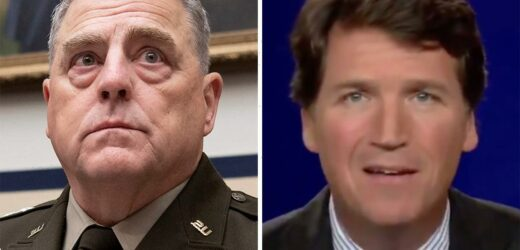 Tucker Carlson calls General Mark Milley a 'stupid PIG' after his backing of teaching critical race theory