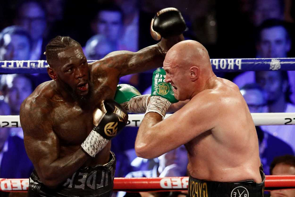 Tyson Fury trilogy fight with Deontay Wilder undercard confirmed with three HUGE heavyweight fights set to take place