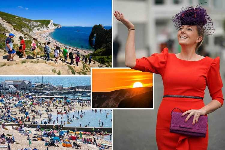 UK weather – Britain to be hotter than BARCELONA this weekend with 26C scorcher as sun roars back
