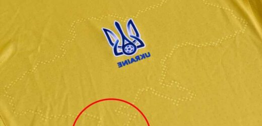 Ukraine's Euro 2020 kit sparks outrage in Russia by including Crimea in map of country on front of shirt