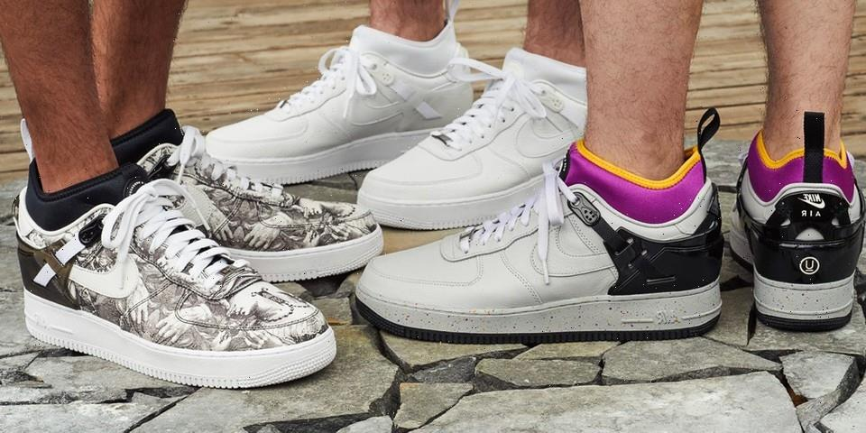 Upcoming UNDERCOVER x Nike Air Force 1 Inspired by ACG Air Revaderchi