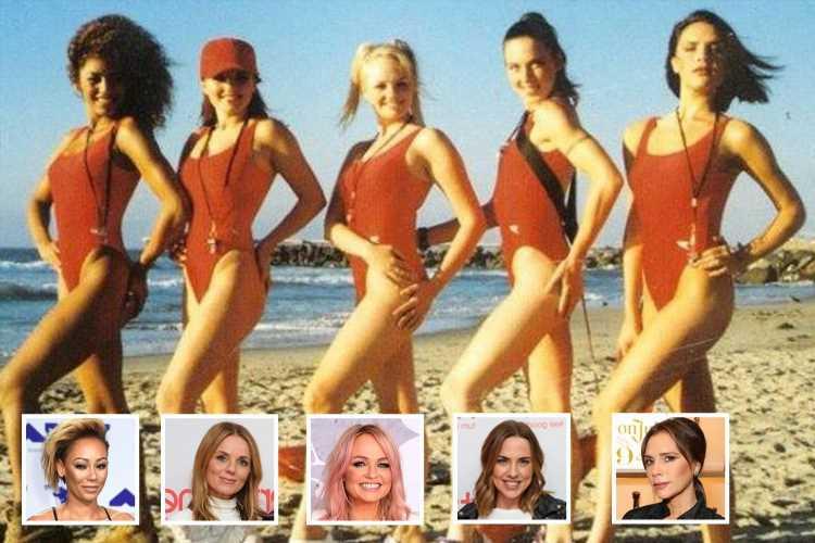 Victoria Beckham sends fans wild as she shares Spice Girls Baywatch throwback