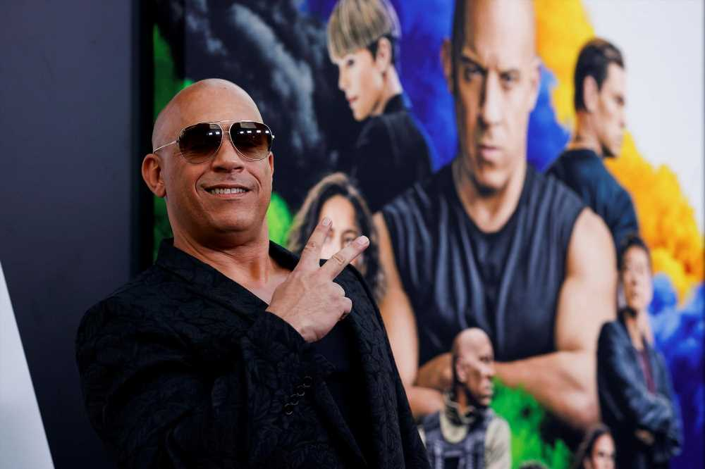 Vin Diesel: 'Cinema is back!' as 'F9' sets pandemic box office record