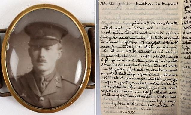 WWI soldier's note telling family to comfort sweetheart should he die