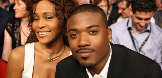 When did Ray J and Whitney Houston date?