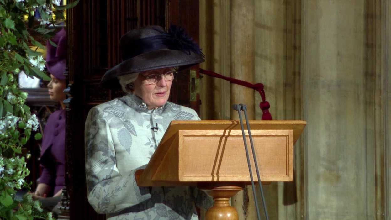 Who is Lady Jane Fellowes? Princess Diana's sister giving a reading at the Royal Wedding