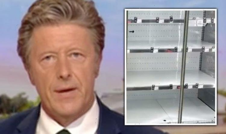 'Defund the BBC!' Charlie Stayt slammed over 'irresponsible' panic buying coverage