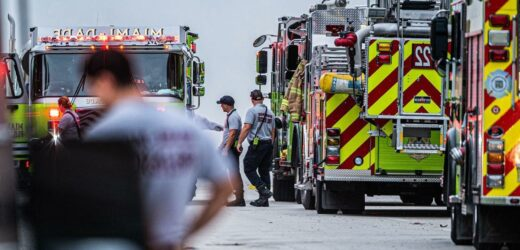 6 firefighters at Florida condo collapse site test positive for COVID-19