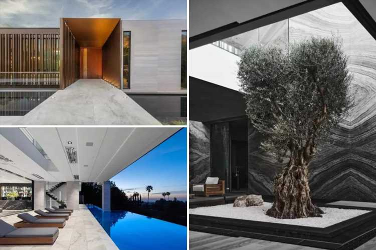$65m Beverly Hills mansion can be bought with Bitcoin and boasts a moat, ancient tree and voice-controlled everything