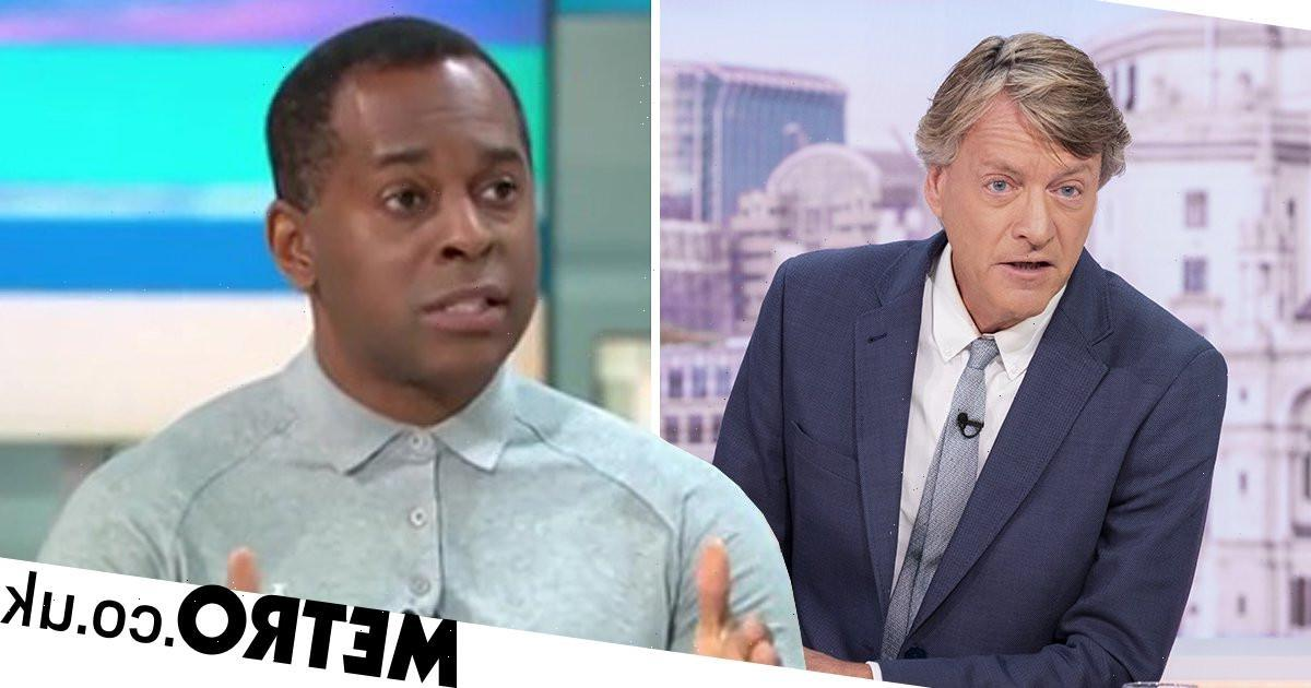 Andi Peters accuses Richard Madeley of 'wishful thinking' over racist abuse