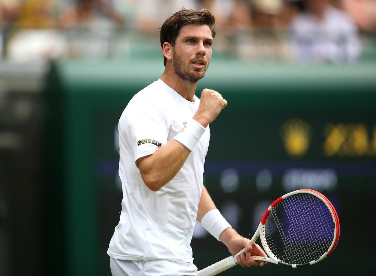 Andy Murray inspiring Cameron Norrie at Wimbledon