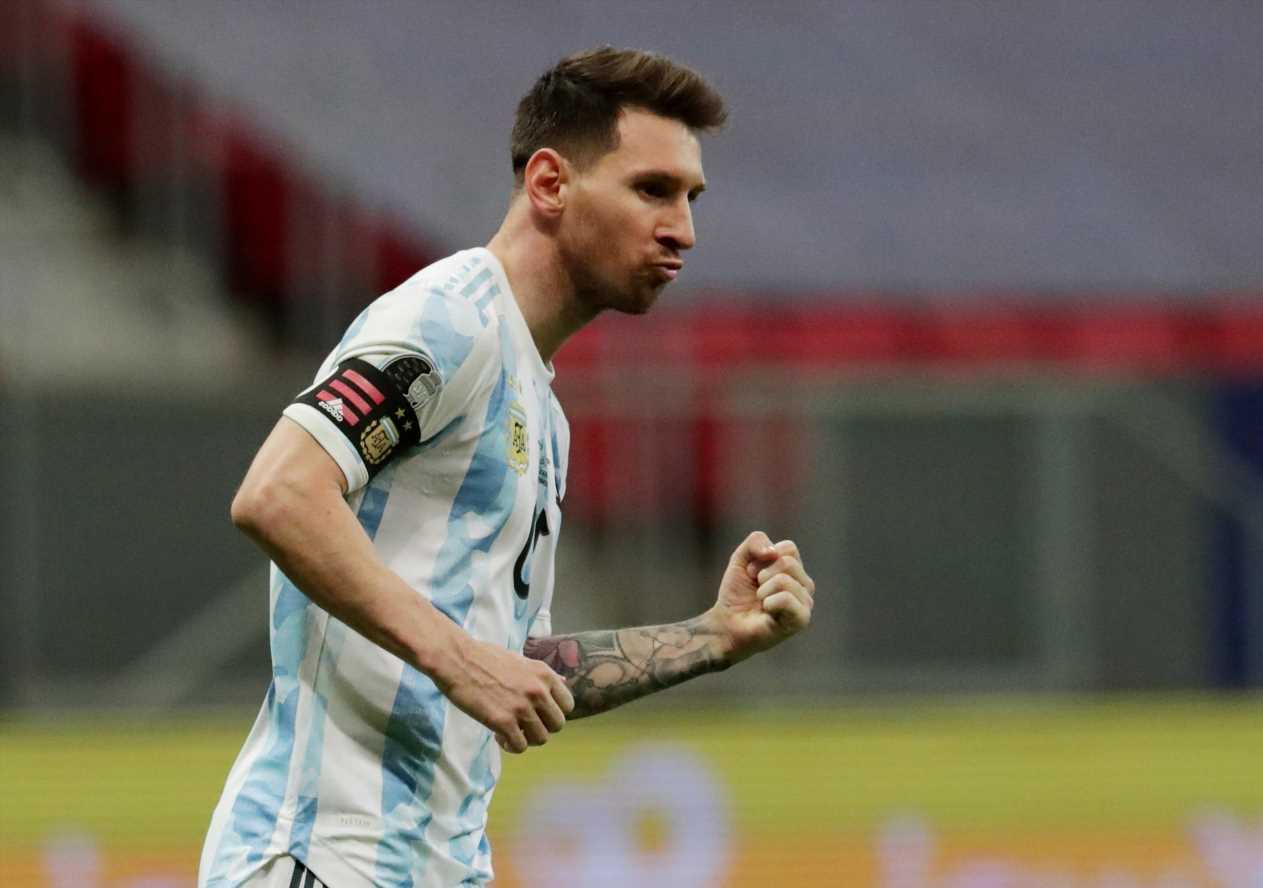 Argentina 1 Colombia (3-2 pens): Lionel Messi and Co book Copa America final date with Brazil after Emi Martinez heroics