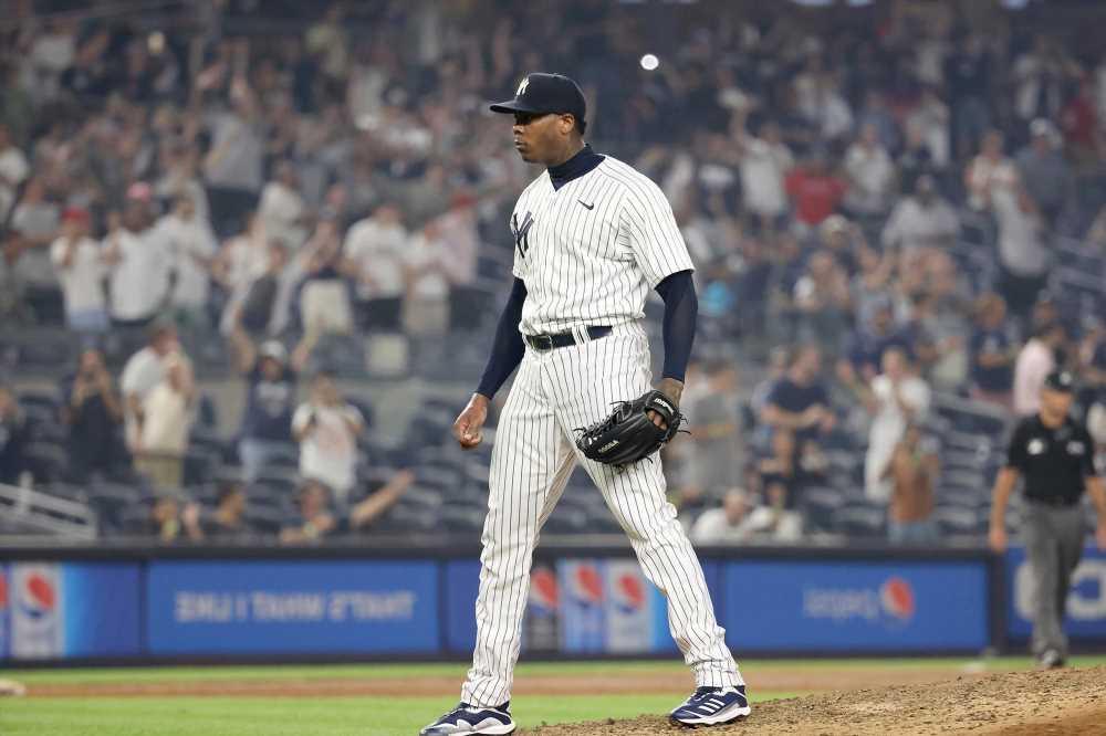 Aroldis Chapmans Yankees nightmare appears over