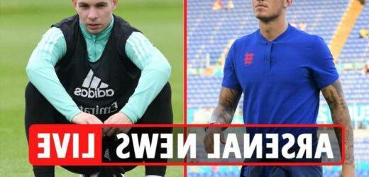 Arsenal transfer news LIVE: Ben White LATEST, new Smith-Rowe bid from Aston Villa, Ramos shock interest,  Guendouzi exit