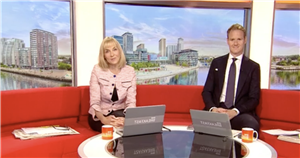 BBC Breakfasts Dan Walker brands Louise Minchin untrained after paper blunder