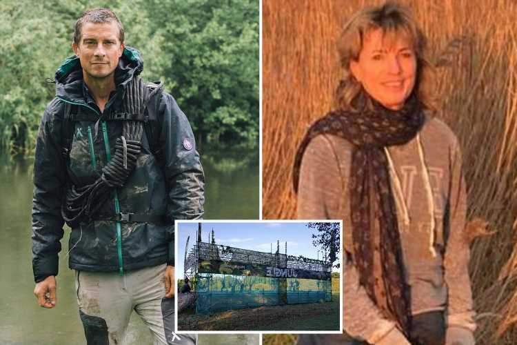Bear Grylls survival race sued for £150k after mum's leg 'smashed like stamped on digestive biscuit'