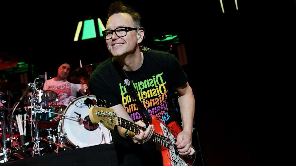 Blink-182's Mark Hoppus reveals his mother beat the same cancer he's fighting
