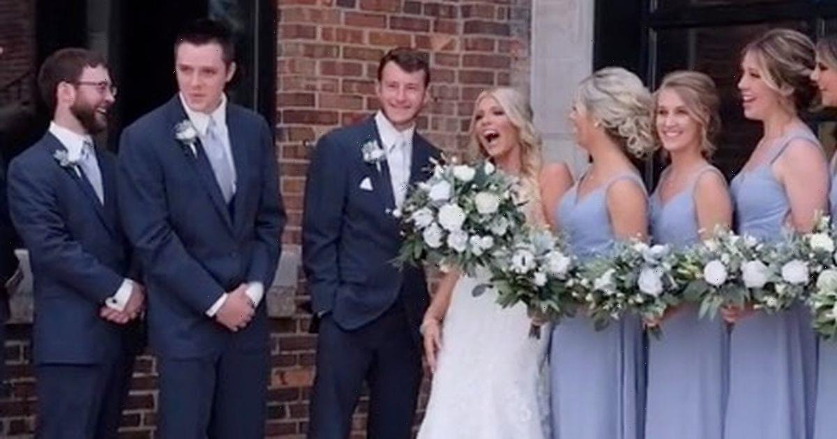 Bride gobsmacked when photographer keeps calling her by name of new husbands ex