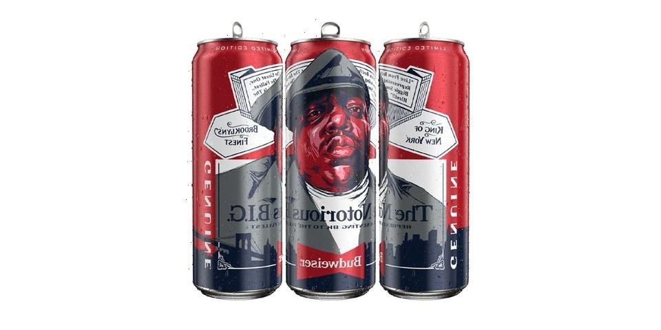 Budweiser Launches Limited Edition Notorious B.I.G. Tall Boy Cans