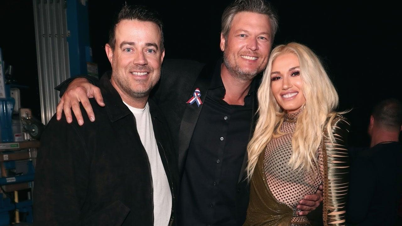 Carson Daly Shares Pics From Gwen Stefani and Blake Shelton's Wedding