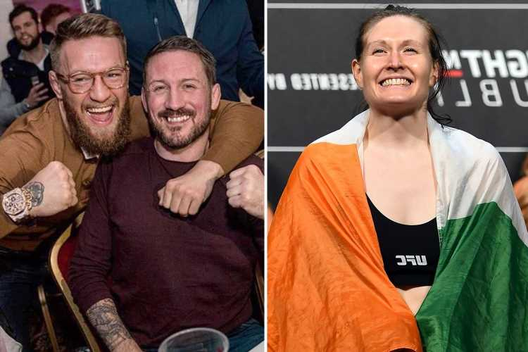 Conor McGregor's coach 'held him down and beat s*** out of him' after he floored Aisling Daly during sparring session – The Sun