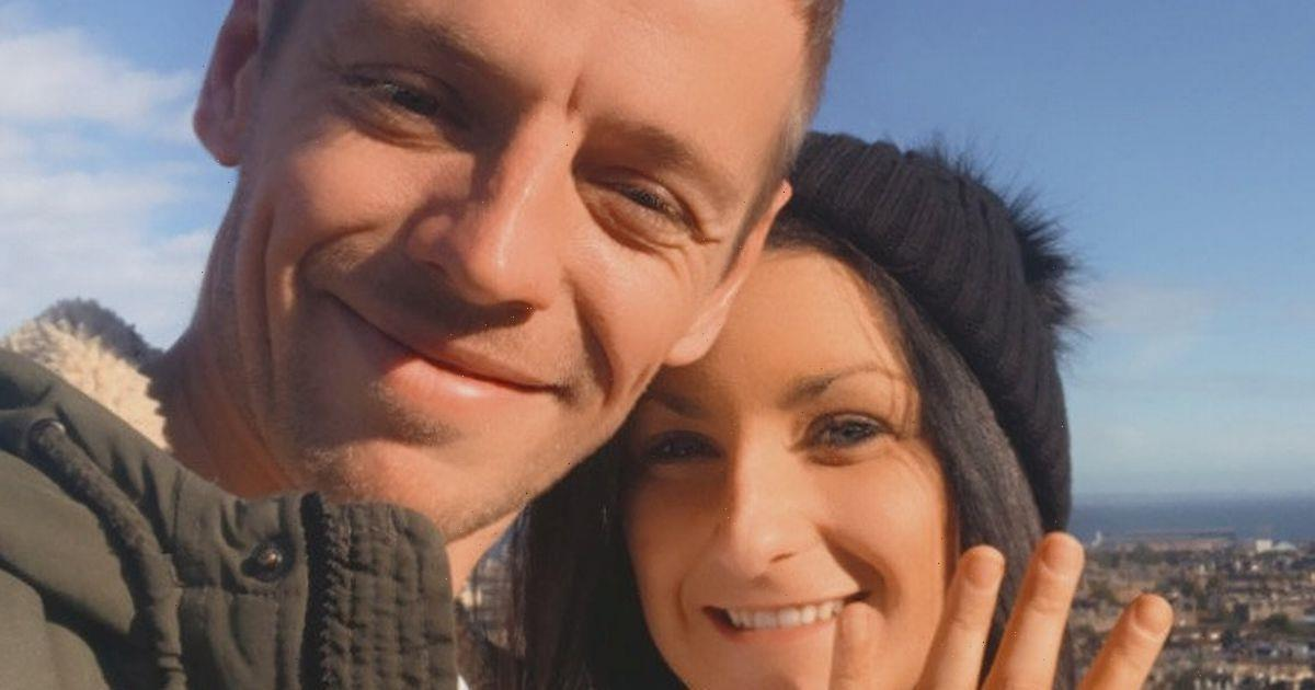 Couple engaged weeks after meeting for first time in lockdown since Tinder match