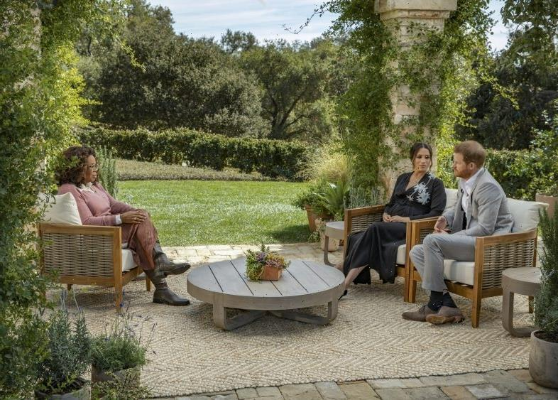 Crowning Achievement: 'Oprah With Meghan And Prince Harry' Special Earns Emmy Nomination