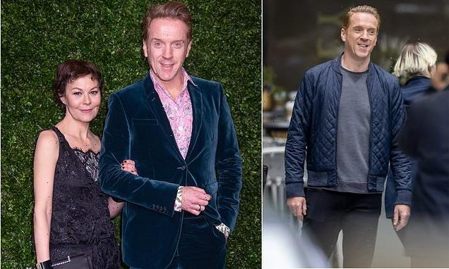 Damian Lewis returns to work four months after Helen McCrory's death