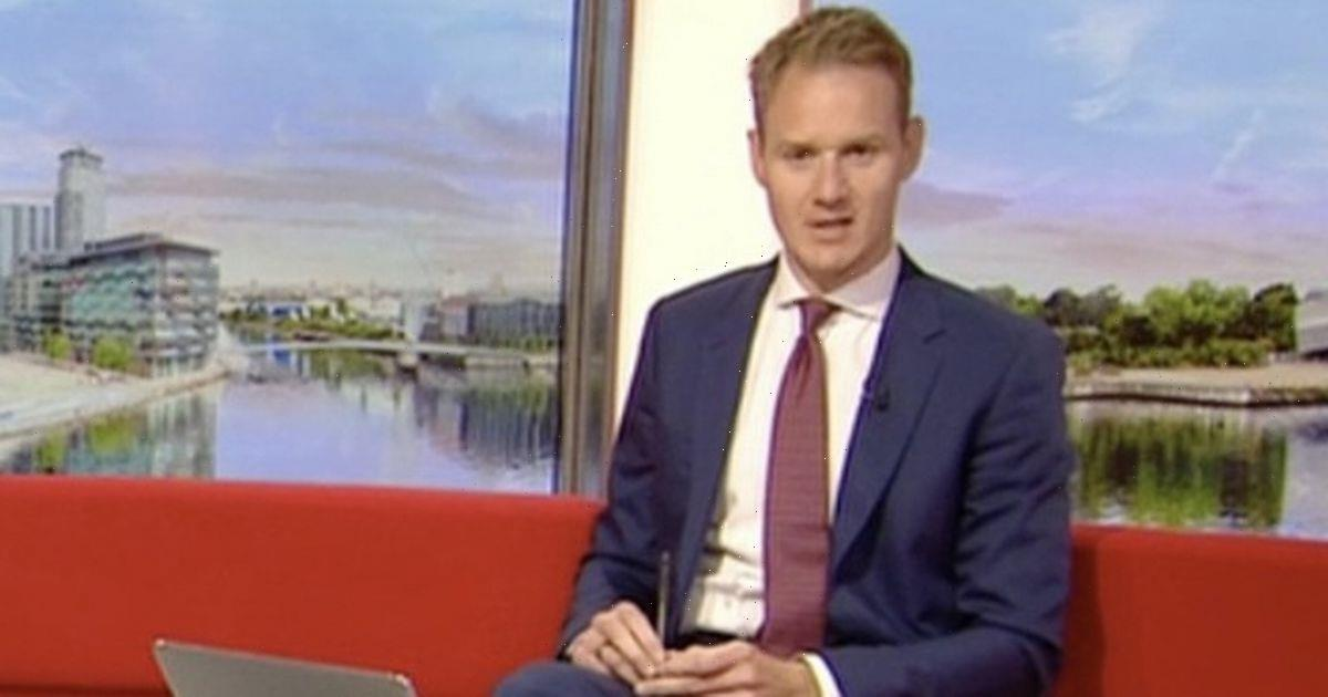 Dan Walker admits hes an idiot as BBC Breakfast viewer forced to correct him