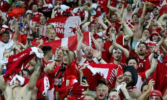 Denmark to be backed by almost 8,000 fans for Euro 2020 semi-final
