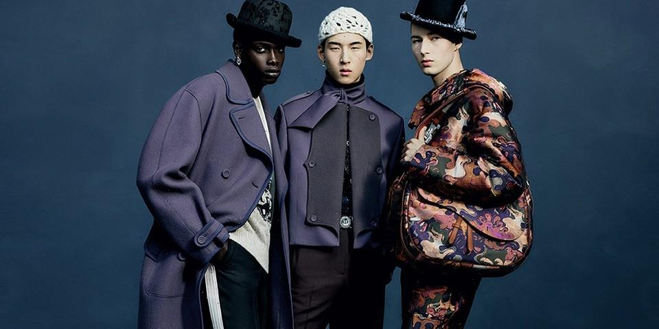 Dior's Winter 2021 Campaign Spotlights Peter Doig-Inspired Classics