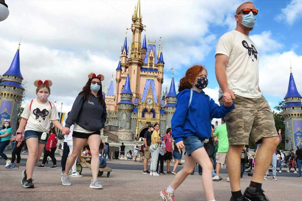 Disney World to once again require masks indoors