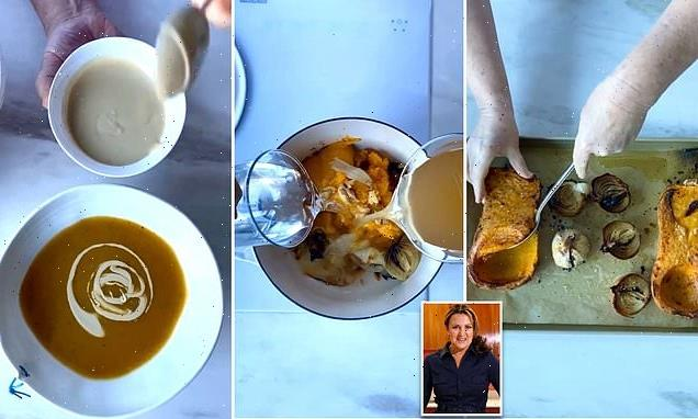 Donna Hay shares simple recipe for the perfect 'no-peel' pumpkin soup