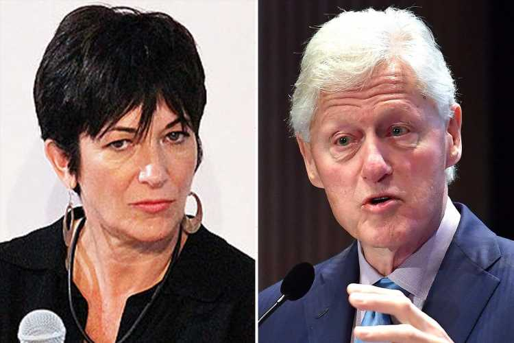 Dozens of files about Ghislaine Maxwell's personal affairs including her 'links to the Clintons' to be unsealed by judge