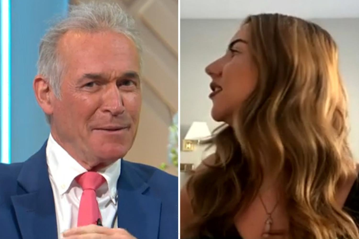 Dr Hilary Jones left horrified as cleaner disrupts live Lorraine interview with Brit in quarantine by barging into room