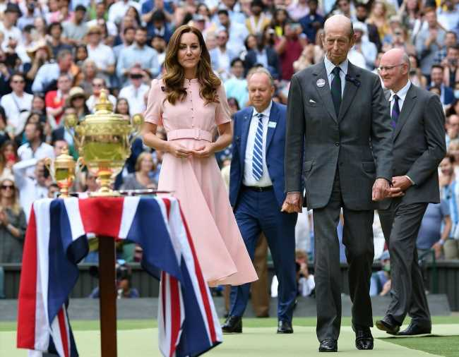 Duchess Kate wore a Beulah dress to the Wimbledon mens final: cute or dated?