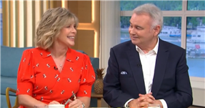 Eamonn Holmes and Ruth Langsford reveal their unusual first date and their 'tiff' after it