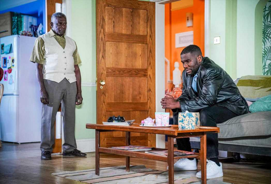 EastEnders spoilers: Isaac Baptiste in horrifying breakdown as he's accused of kidnapping Lily and Arthur