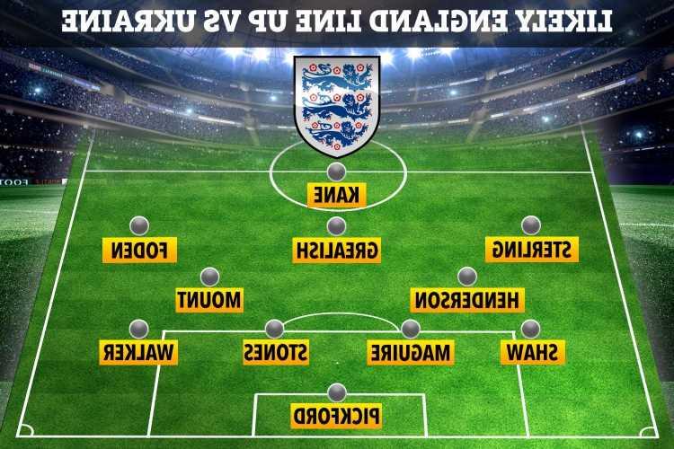England vs Ukraine FREE: Live stream, TV channel, team news and kick-off time for Euro 2020 quarter-final TONIGHT