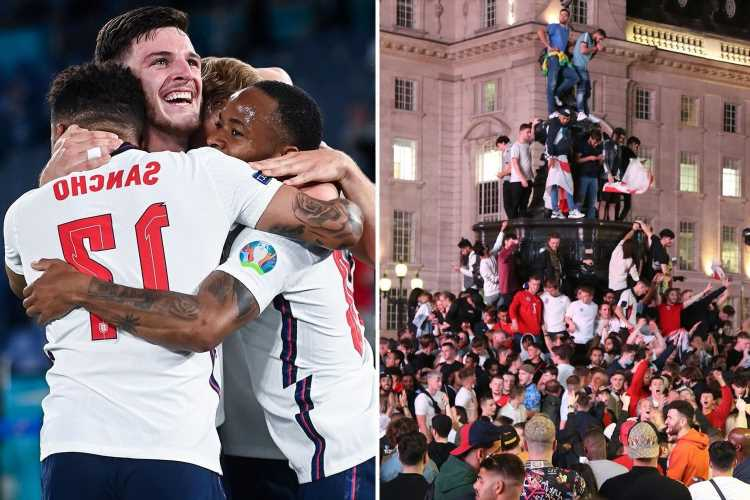 England will be forced to wait until SEPTEMBER for victory parade if they win Euro 2020 due to coronavirus
