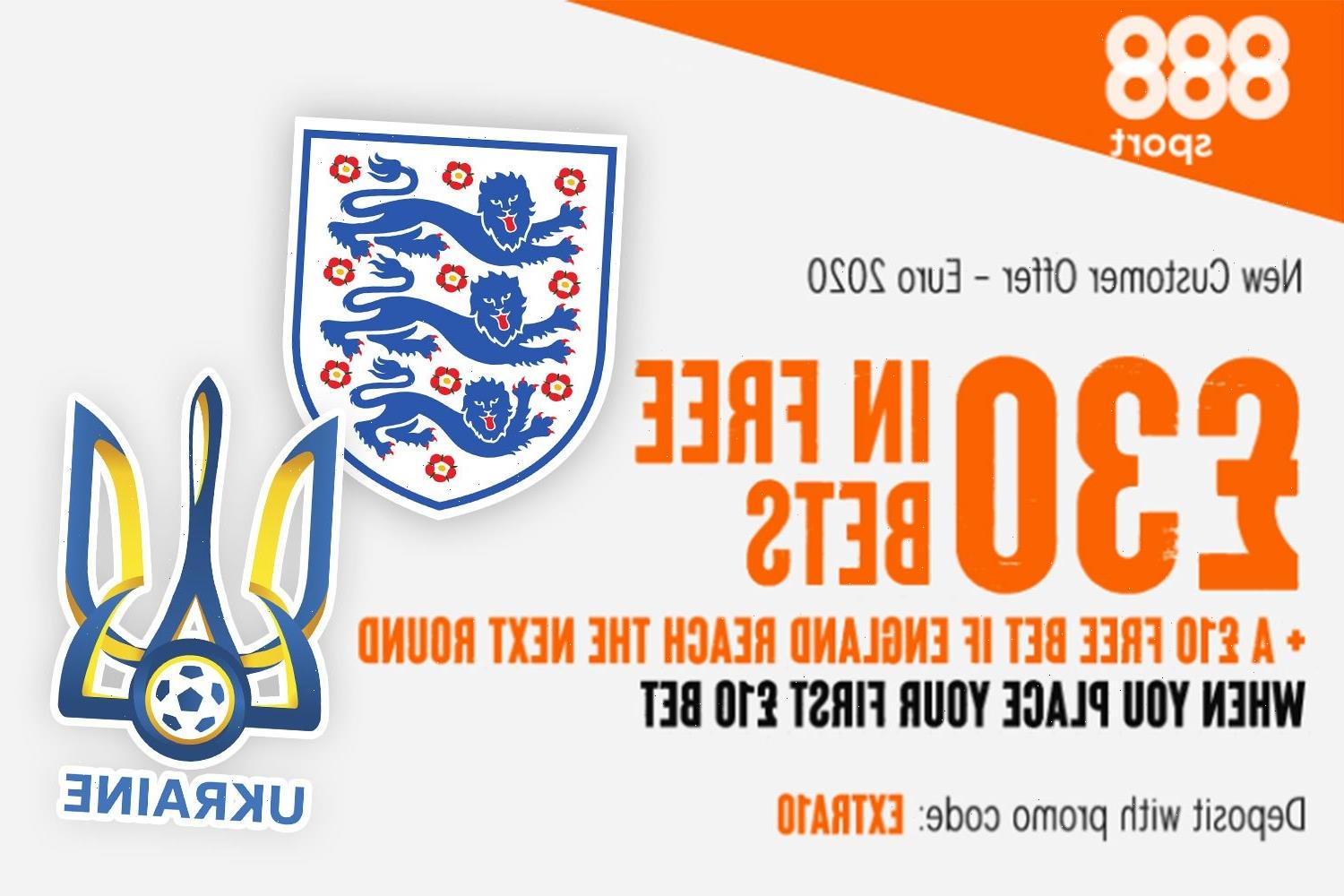 Euro 2020: Get £30 in free bets plus extra £10 if England progress to the semi-finals