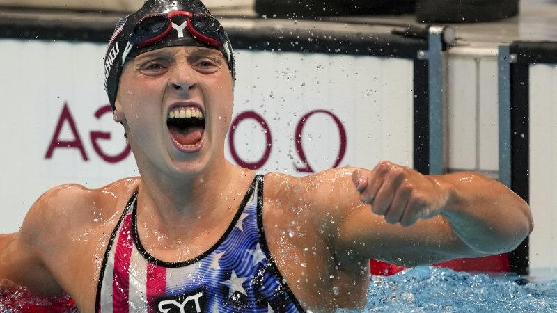 Even as Titmus takes centre stage, Ledecky is still making women's swimming history