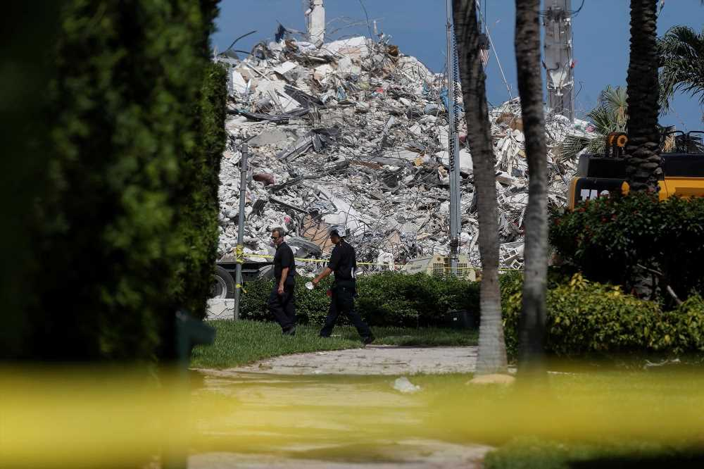Florida building collapse death toll jumps to 64, 76 still unaccounted for