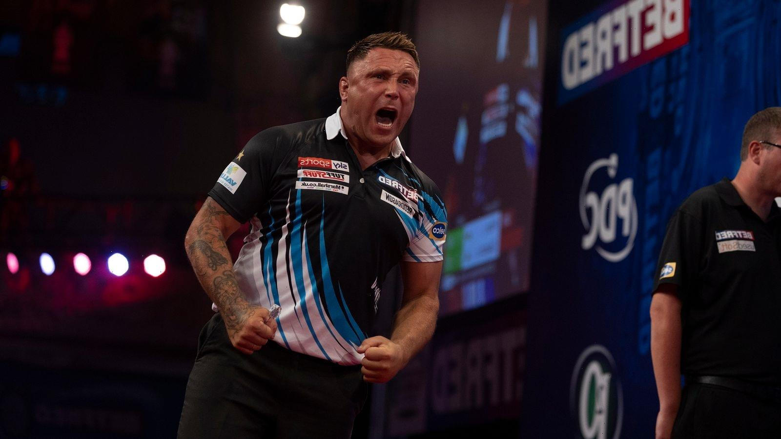Gerwyn Price calls for respect from darting public after being booed at the World Matchplay