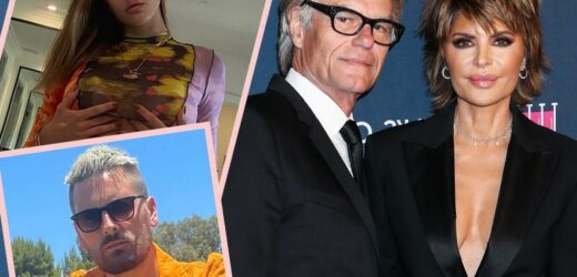 Harry Hamlin FINALLY Reveals How He Feels About Daughter Amelia's 'Odd' Age Gap With Scott Disick!