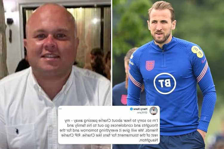 Harry Kane vows to 'give it everything' in quarter-final for England fan who died celebrating his goal against Germany