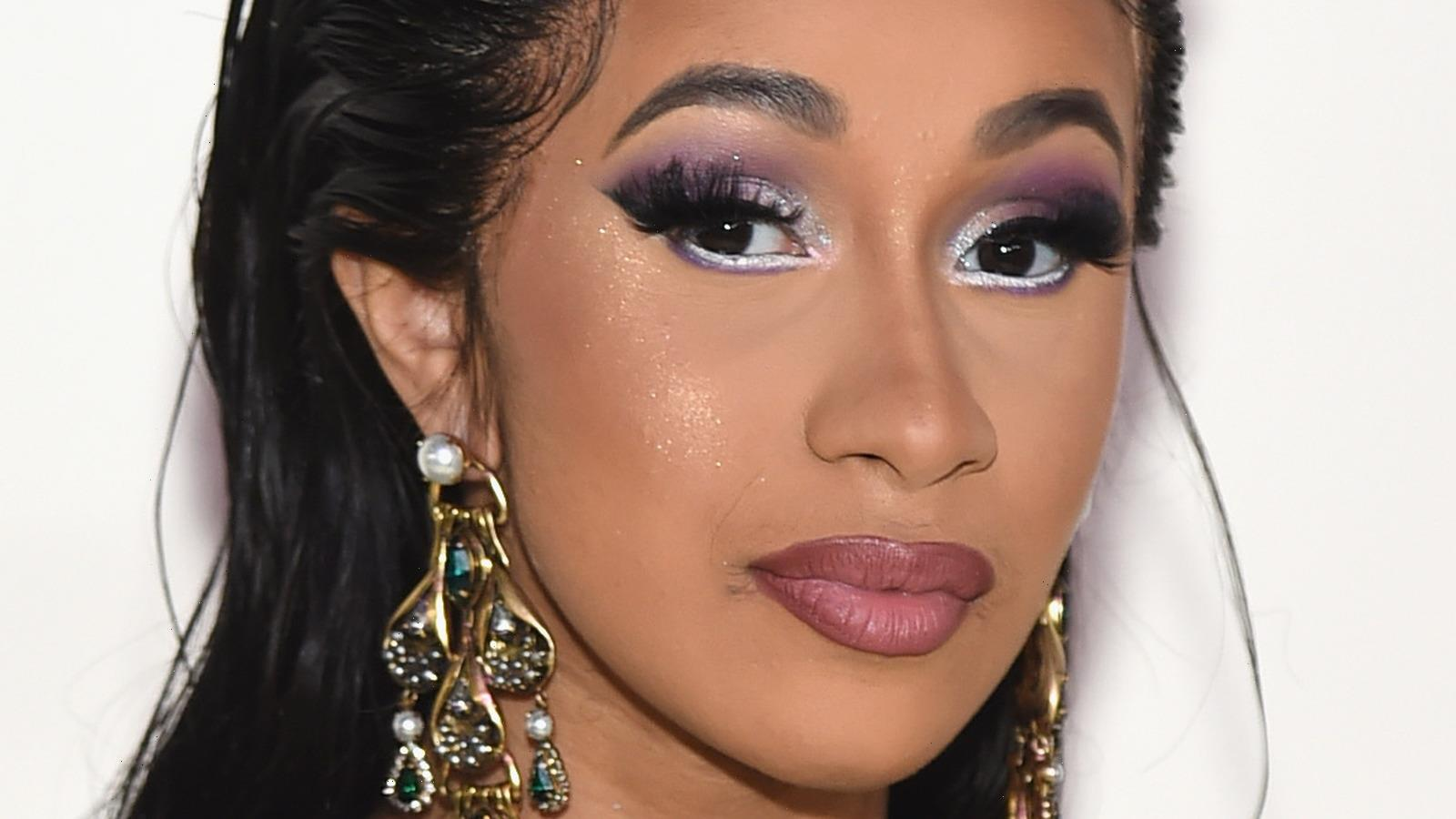 Heres What Cardi B Almost Got Tattooed On Her Face