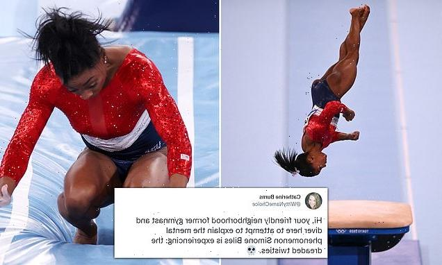 How the terrifying 'twisties' up-ended Simone Biles' Olympics