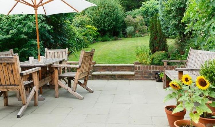 How to clean paving slabs without a pressure washer – THREE simple methods