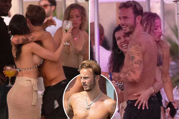 James Maddison parties in Ibiza as he makes most of summer holiday after missing out on England's Euro 2020 squad